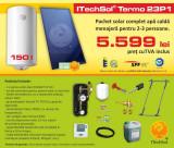 Pachet solar (kit) complet Casa Verde pentru apa calda menajera pentru 2-3...