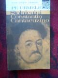 A10 RADU STEFAN CIOBANU - PE URMELE STOLNICULUI CONSTANTIN CANTACUZINO