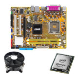 Kit Placa de Baza Refurbished Asus P5GC-MX/S, Intel Dual Core E2140, Cooler