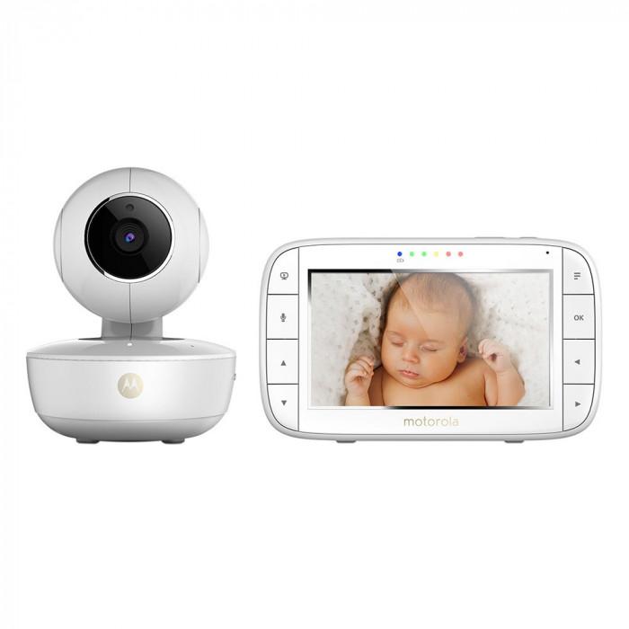 Resigilat : Video Baby Monitor Motorola MBP55 cu ecran 5 inch