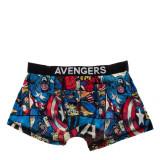 Boxeri barbati Avengers cu bata neagra