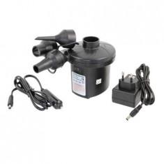 Pompa electrica de umflat si desumflat saltele  pentru priza sau auto
