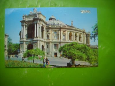 HOPCT 52730  Teatrul de Opera si Balet Odesa Ucraina  -CIRCULATA foto