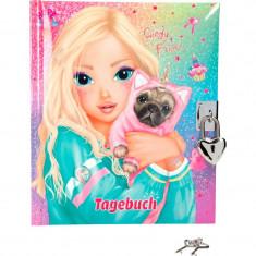 Jurnal Top Model Depesche, 18.2 x 15.4 x 3 cm, roz
