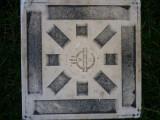 Placă veche de faianță Farago., Proline