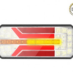 Lampa stop camion LED cu semnalizare dinamica SL-5005 12-24V