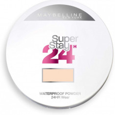 Pudra Compacta cu efect MAT Maybelline SuperStay 24 Hr 30 Sand 9g