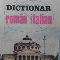 DICTIONAR ROMAN-ITALIAN - ION NEATA