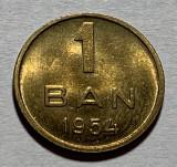 1 Ban 1954 Romania UNC, Luciu de batere (2)