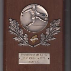 Placheta fotbal Germania FC Viktoria 1913 KAHL, Europa
