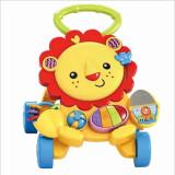 Cumpara ieftin Premergator copii cu centru de activitati muzical pentru bebelusi, 6-12 luni, Alb