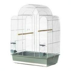 Colivie pentru papagali SONIA III crom - 54 x 34 x 75 cm