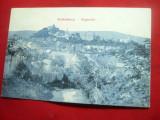 Ilustrata Sighisoara - Vedere circulat 1909