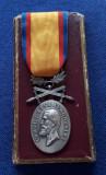 Medalia Barbatie si Credinta - militara - medalie - decoratie