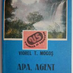 Apa, agent terapeutic – Viorel T. Mogos