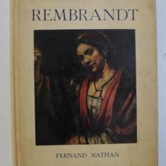 LES MINIATURES HYPERION - REMBRANDT par HENRI DUMONT