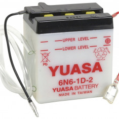 Baterie acumulator scuter maxiscuter 6N6-1D-2 99x57x111 6V 6Ah Kawasaki KL, KL 100 125 250cc