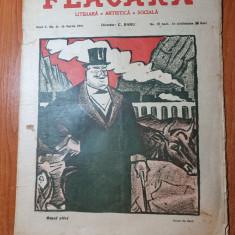 flacara 24-26 martie 1916-victor eftimiu,ion pilat, c. banu,alexandru macedonski