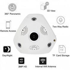 Camera supraveghere video panoramica 360 de grade