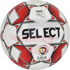Mingi de fotbal Select Liga Pro IMS Ball LIGA WHT-RED alb