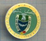 AX 165 INSIGNA VANATOARE SI PESCUIT SPORTIV PERIOADA RSR -A.G.V.P.S -1948-1988
