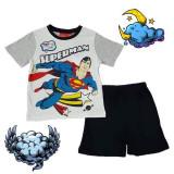 Pijama maneca scurta Superman 3-8ani