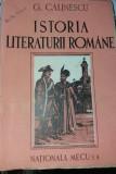 ISTORIA LITERATURII ROMANE -GEORGE CALINESCU COMPENDIU 1945