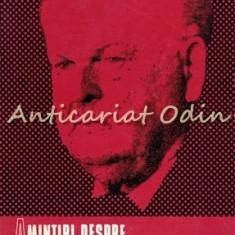 Amintiri Despre Mihail Sadoveanu - Ion Popescu-Sireteanu - Tiraj: 9200 Exemplare