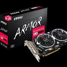 Placa video MSI Radeon RX 570 ARMOR 8G OC, PCI Express 3.0 x16, 8GB, GDDR5, 256-bit, Boost/Base Core Clock: 1268 Mhz, Memory Frequency: 7000 bulk