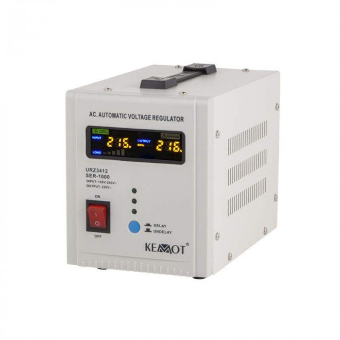 Stabilizator tensiune automat Kemot, 1000 VA