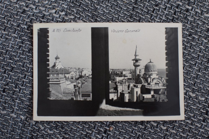 AKVDE19 - Vedere - Constanta - Vedere generala cu moscheia