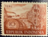 "Indonezia Timbre din Indonezia supraimprimate ""Irian Barat"", Agricultura, Nestampilat"