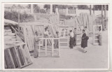 Bnk foto - Ploiesti - Depozit material constructii str Valeni - anii `70, Alb-Negru, Romania de la 1950
