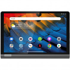 Tableta Lenovo Yoga Smart Tab YT-X705L 10.1 inch FHD Qualcomm Snapdragon 439 3GB 32GB Fash Wi-Fi 4G Iron Grey