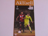 Program meci fotbal BAYER 04 LEVERKUSEN-VILLARREAL(Europa League 17.03.2016)
