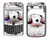 Folie plastic protectie fata + spate (model 2) Decal pentru BlackBerry Bold 9700