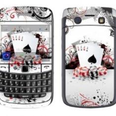 Folie protectie fata + spate (model 2) Decal pentru BlackBerry Bold 9700