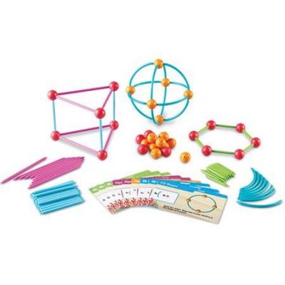 Construieste geometric - Set de construit forme geometrice foto