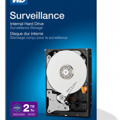 Hard disk Western Digital Surveillance 2TB SATA-III 5400 RPM 64MB