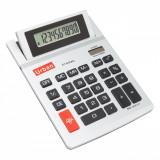 Calculator mare de birou, model cu 4 functii si 10 cifre, alb