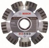 Bosch Best disc diamantat 115x22.23x2.2x12 mm pentru materiale abrazive