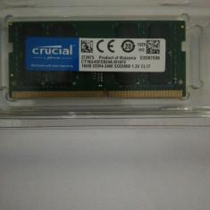 Memorie Sodimm CRUCIAL 16Gb DDR4 2400Mhz, PC4-2400, CL17 ,volti 1.2V - Sigilata
