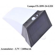 Lampa de Perete Solara FX-20W-IP66 , Senzor