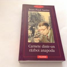 Carnete dintr-un razboi anapoda - Jean-Paul Sartre-RF17/3