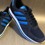 Pantofi sport adidas 8K -42EU- pinza/piele intoarsa- produs original - IN STOC, 42, Albastru