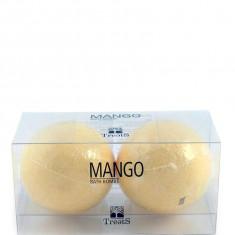 Set 2 Bile Efervescente de Baie TREETS cu Mango 2 x 180 gr