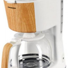 Cafetiera Heinner HCM-WH900BB, 900W, 1.25L, Oprire automata (Alb)