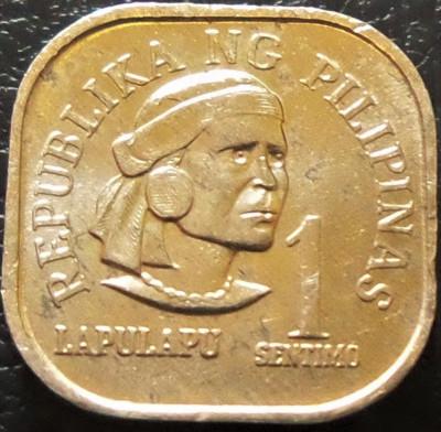Moneda 1 SENTIMO - FILIPINE, anul 1975 *cod 505 foto