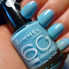 Lac de unghii, Rimmel London, 60 Seconds Super Shine, 842 Too cool to tango, 8 ml