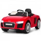 Mașinuță electrică pentru copii Audi R8 Spyder, Rosu